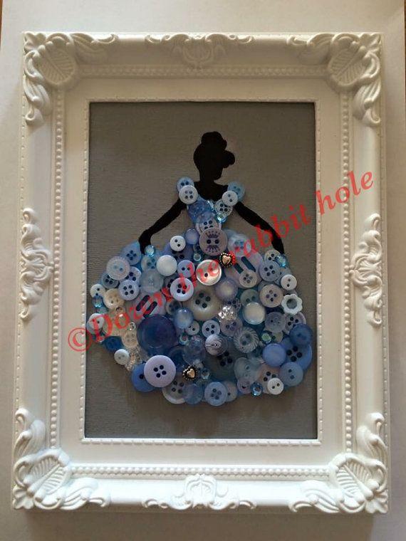 Disney Prinzessin Taste Leinwand gerahmt von NorthStar2016 auf Etsy