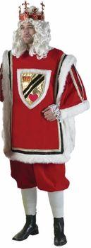 Men's Deluxe King of Hearts Costume