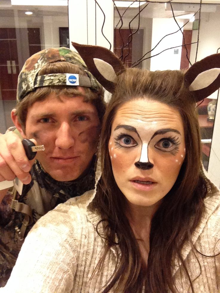 """DEAR HUNTING"" Couples Costume 21 DIY Costumes Adults Can Rock This Halloween"