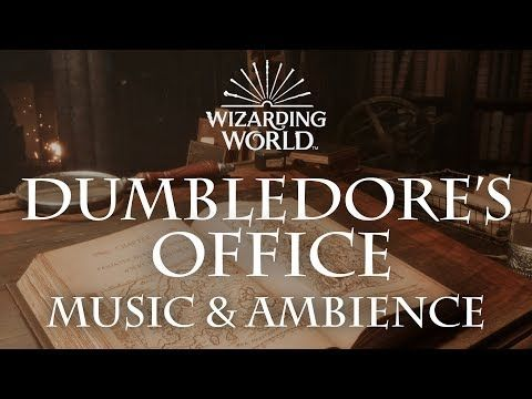 Harry Potter Music & Ambience | Dumbledore's Office - Office