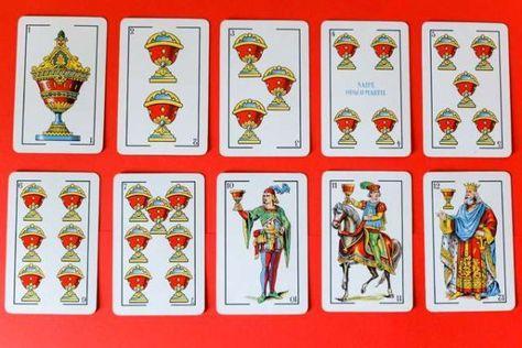 Significado de las cartas de la baraja española en el tarot: Las copas