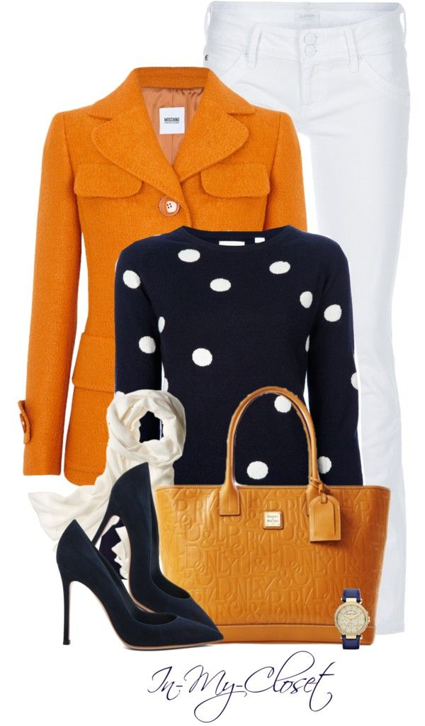"""Polka Dots"" by in-my-closet on Polyvore"