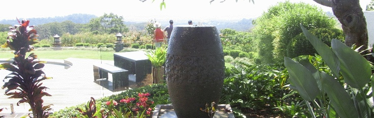 Bubbling pot overlooking the ocean