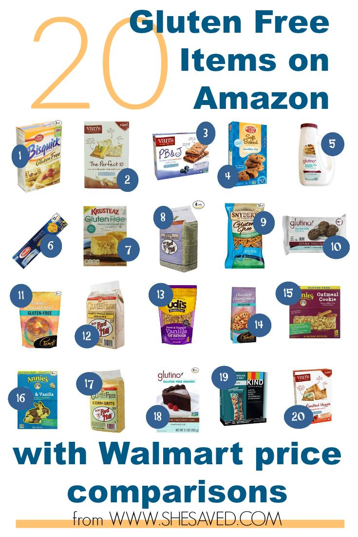 If you are looking for deals on Gluten Free Products then make sure to check out my round up of Gluten Free Items on Amazon! I have even included Walmart price comparisons to save you not only money, but time!