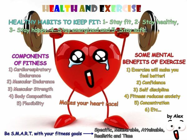Alejandro. Health and Exercise