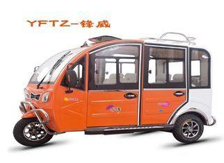 China triciclo eléctrico del vehículo de pasajeros de 48V 800W con control fácil de tres ruedas proveedor