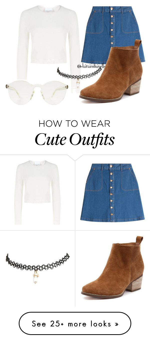 """""""Cute Tumblr Outfit"""" by diavianshanelle on Polyvore featuring Charlie May, HUGO and Wet Seal"""
