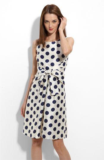 Kate spade multicolor polka dot dress