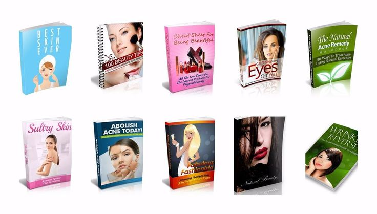 Beauty collection eBook-PDF Master Resell Rights