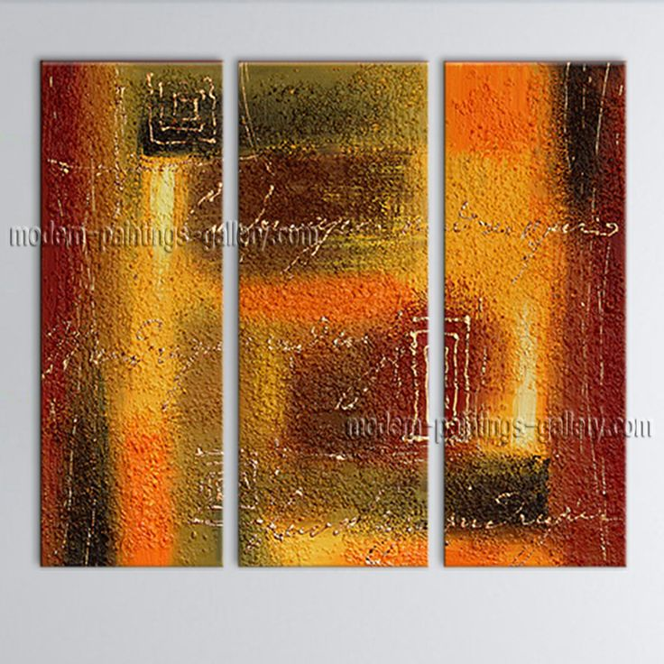 Large Modern Abstract Oil Painting On Canvas Wall Art Home Decor ...