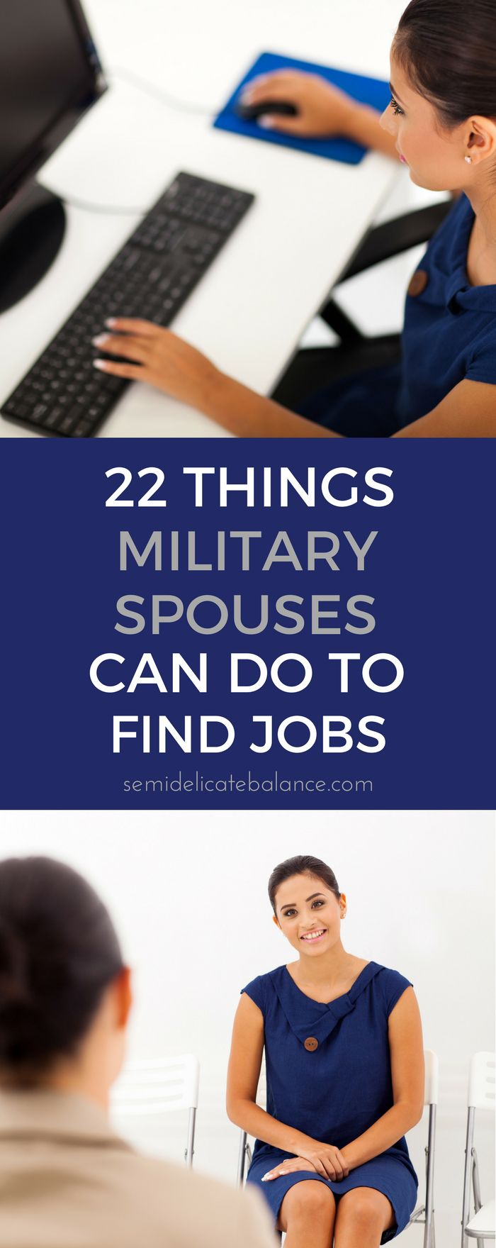 Job tips and advice for military spouse employment