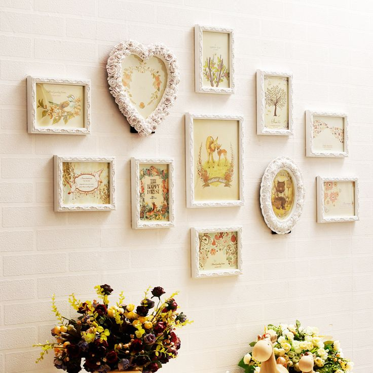 Find More Frame Information about 11pcs Engraver Wood Mediterranean Style Baroque White Green Decorative Wall Photo Frame Sets Romantic For Wedding Picture Hot ,High Quality frame magnet,China frame strip Suppliers, Cheap wall tap from Handicraftsman on Aliexpress.com