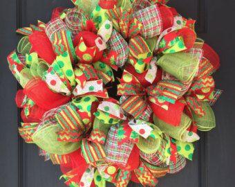 Árbol de Navidad guirnalda Malla de Deco malla por SnappyPea