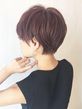 エフォートレスピンクアッシュショート_6766 - 24時間いつでもWEB予約OK!ヘアスタイル10万点以上掲載!お気に入りの髪型、人気のヘアスタイルを探すならKirei Style[キレイスタイル]で。