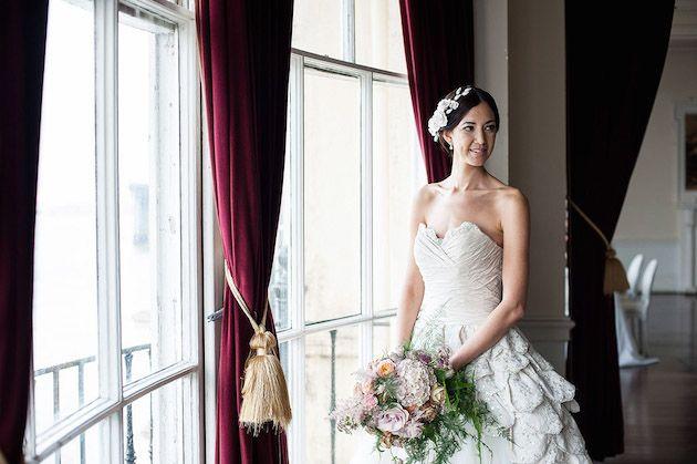 Beautiful Baroque Bridal Shoot | Linen and Silk Weddings | Fiona Kelly Photography | Bridal Musings Wedding Blog 14