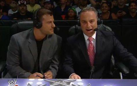 Matt Striker and Scott Stanford on the 9/6/12 episode of Superstars.