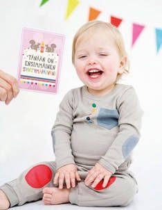 Milestone Baby Cards vauvakortit - Vauvalahjat ja  kastelahjat - MSBCFIN - 1