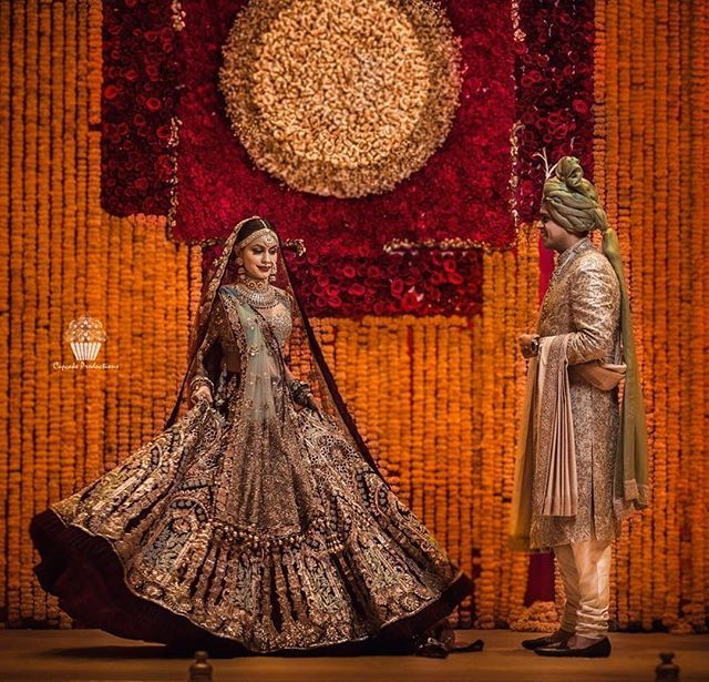 Everything about this couple screams regal 😍😍😍 #photography: @cupcakeproductions13  _______________________________ #IndianWeddingBuzz #indianwedding #indianweddings #indianweddinginspiration #weddinginspiration #realwedding #realindianwedding #indianbride #wedding #weddings #weddingday #weddinginspiration #bride #love #instagood #instadaily #cute #fashion #style #designer #groom #weddingseason