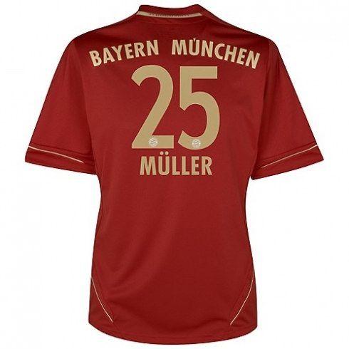 Muller del Bayern Munich 2012/13 Camiseta futbol [877] - €16.87 : Camisetas de futbol baratas online!