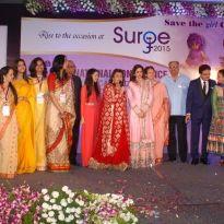 Madhuri Dixit & Bonny Kapoor at Surge 2015