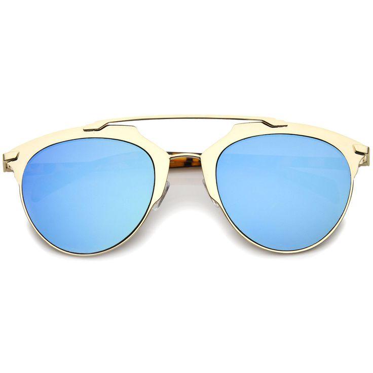 Γυαλιά Ηλίου ZeroUV A317 Gold Unisex Χρυσό Πεταλούδα Μπλε Καθρέφτης Η εταιρία ZeroUV ιδρύθηκε το 2001 από ανθρώπους που είχαν ιδιαίτερο ενθουσιασμό για τα γυαλιά. Η εταιρία απευθύνεται σε όλους εκείνους που τους ενδιαφέρει η μόδα σε συνδυασμό με ιδιαίτερα χαμηλές τιμές. Η ZeroUV φέρνει τη τελευταία λέξη της μόδας στις χαμηλότερες τιμές για να είναι ικανοποιημένοι όλοι οι πελάτες