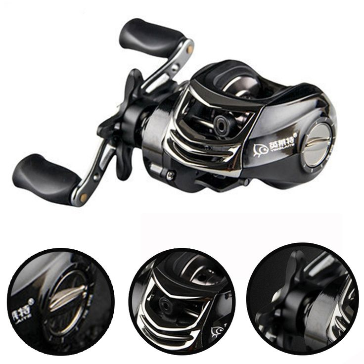 (37.66$)  Watch here  - 10+1BB 6.3:1 Magnetic brake system Water drop wheel Fishing reel China fishing equipment Reels Carretilha de pesca Abu garcia