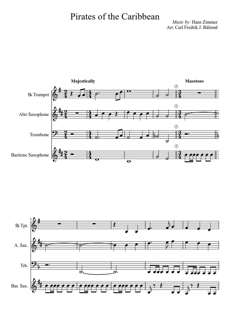 Sheet music made by Mr... Katy Perry Firework Movie