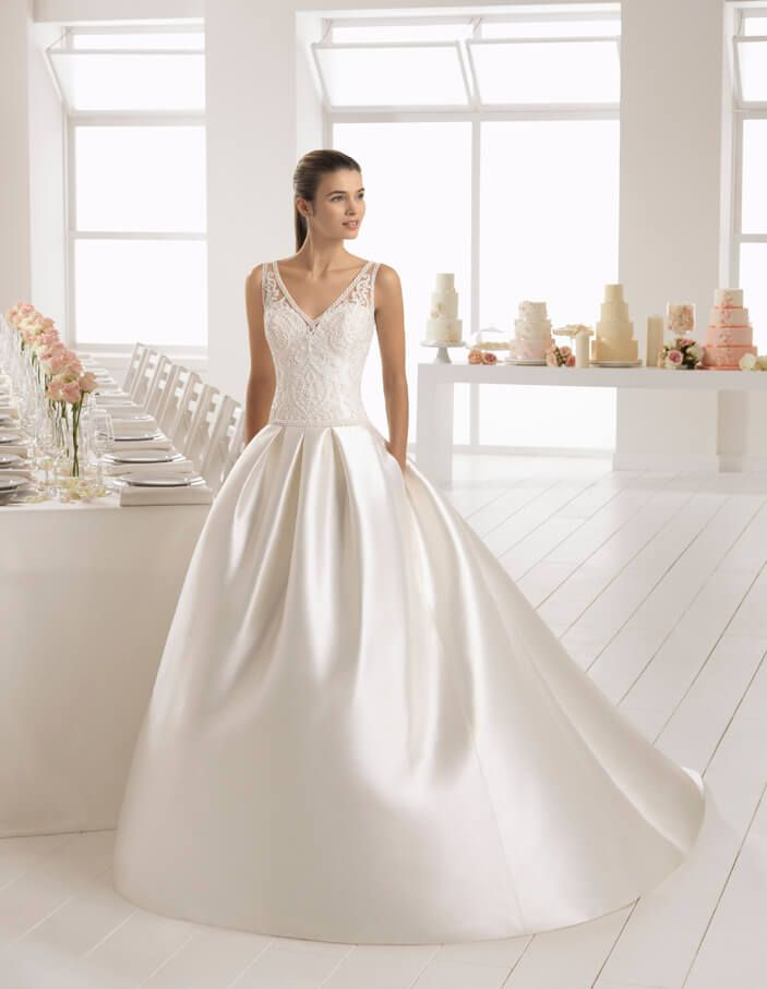 vestido de novia - novias rivoli - logroño. colección aire 2018