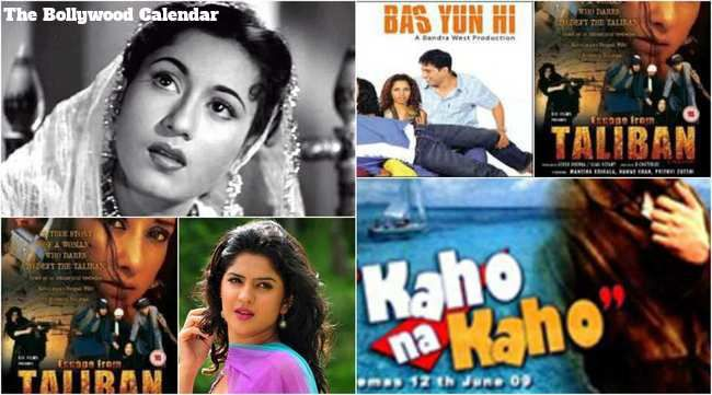 Bollywood On 14th February It is the birthday of Madhubala and Deeksha Seth. Movie Released Kaho Na Kaho, Bas Yuh Hi and Escape Taliban in Bollywood