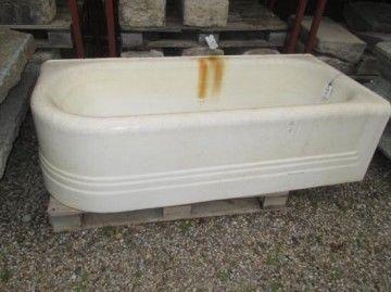 Vasca  da  bagno  in  ghisa