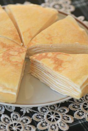 「米粉のミルクレープ」kaiko   お菓子・パンのレシピや作り方【corecle*コレクル】