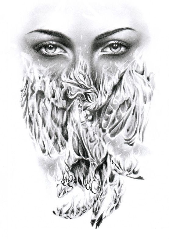 Phoenix Tattoo Design by ~ca5per on deviantART