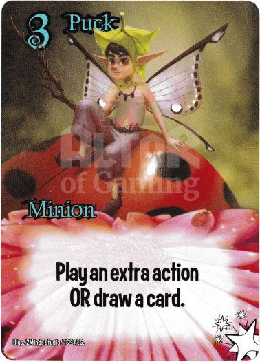 Puck - Fairies - Smash Up Card | Altar of Gaming