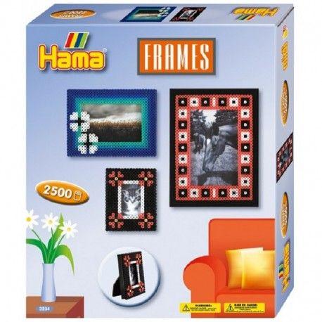 Witajcie,   Nowy Zestaw Hama 3234 - Ramki na Zdjęcia z Koralików Midi 5mm dla Dzieci od lat 5.  Ramki można ułożyć według wzorów zaproponowanych na opakowaniu lub stworzyć takie jakie podpowiada nam własna wyobraźnia.   Sprawdźcie sami:)  Przyda się pomoc rodziców:)  http://www.niczchin.pl/koraliki-hama/2703-hama-3234-ramki-na-zdjecia-z-koralikow.html  #hama #midi #koraliki #ramkanazdjecia #zabawki #niczchin #krakow