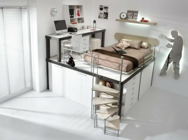13 best meuble chambre ado images on Pinterest | Bedroom ideas ...