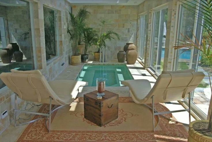 37 best swim spa sauna images on pinterest indoor for Zen pool design