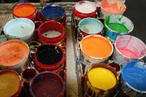 Vegan paints