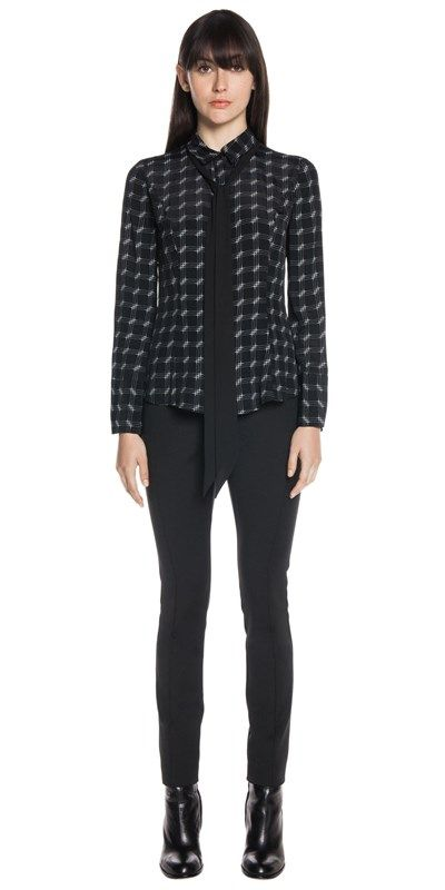 @cueclothingco  Check Print Necktie Shirt. #aw16 #gcaw16 #perth #fashion #geekchic