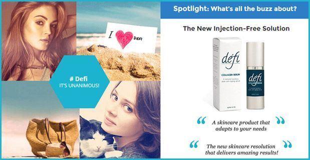 Defi Collagen Serum is made with 100% natural ingredients that help reverse skin aging from the cellular level without side effects. Visit this site to know more: http://deficollagenserum.org/
