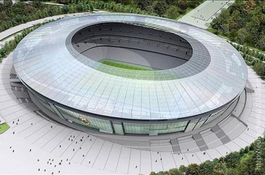Estadio Donbass Arena de Donetsk (50.000 espectadores) - Ingrid Irribarren.