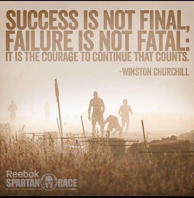 Spartan motivational poster