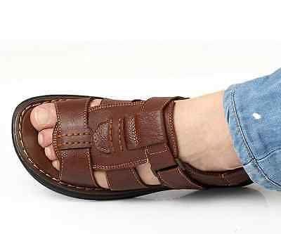 Nuevo Para Hombre Fashion Sandalias Deportivas De Verano Casual Filp Macho Playa Zapatos A71