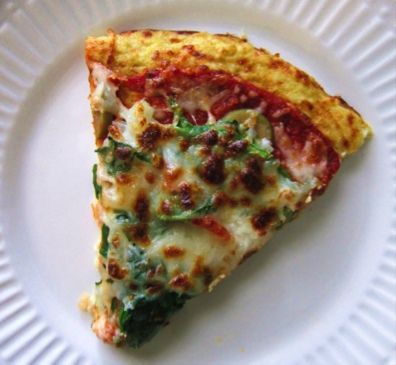 Cauliflower Crust Pizza Recipe - low cal way to satisfy your pizza