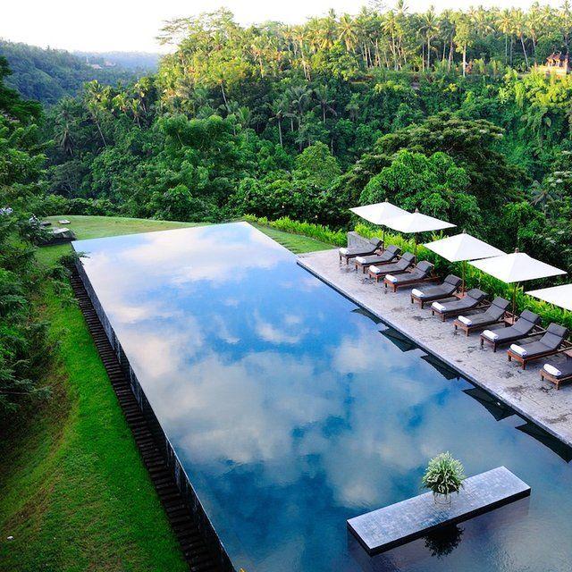 Alila Ubud, Bali - Awesome pool - awesome landscape