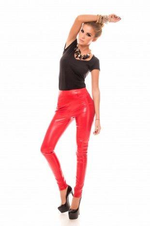Pantaloni Missy Rosii- www.zonia.ro