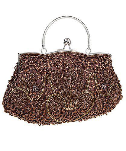 iToolai Satin Purse Evening Handbags Wedding Bag Beaded S... https    f4a68d045b8d8