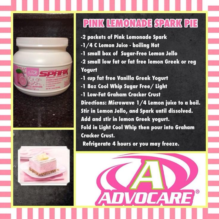 factory in nj AdvoCare Pink Lemonade Spark Pie  AdvoCare  Spark  recipe  mommyjuice  http   www advocare com 140533302