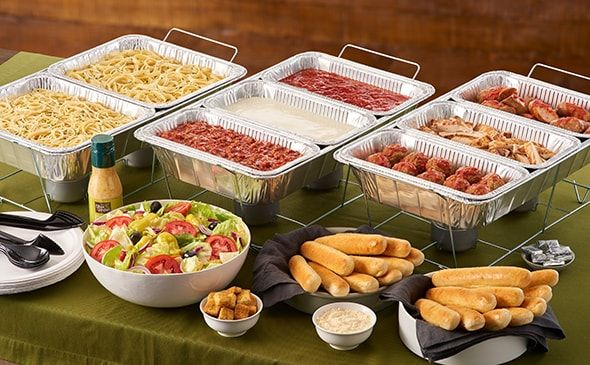 Olive Garden Catering Create Your Own Pasta Station 12 50 Per