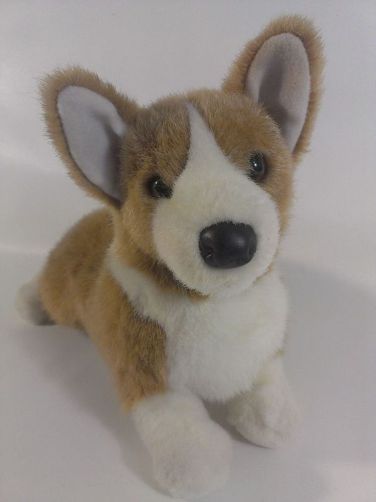 Welsh CORGI Plush Puppy Dog Douglas Cuddle Tan Stuffed