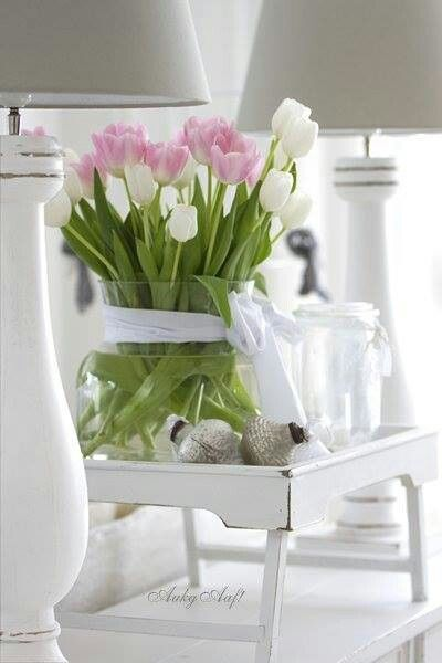 Gezellige tulpen!